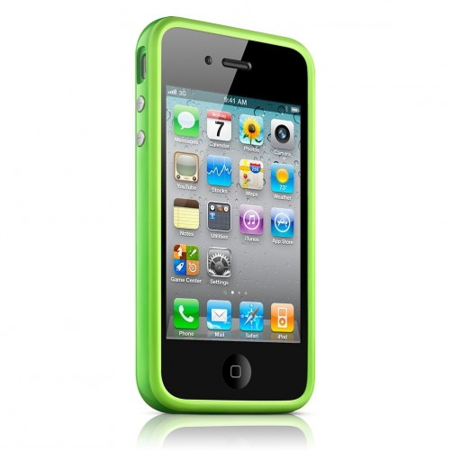 Bumper iPhone 4 - Bumper iPhone 4S Verde