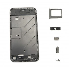 Black Rear Frame - iPhone 4S