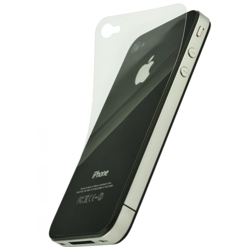 film de protection vitre arri re iphone 4 et 4s. Black Bedroom Furniture Sets. Home Design Ideas