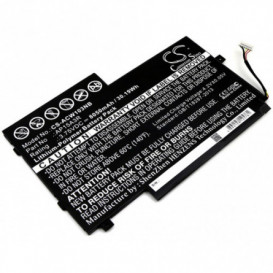 Batterie Acer 8050mAh / 30.19Wh 3,75V compatible Aspire Switch 10E, SW3-013, SW3-013-1566