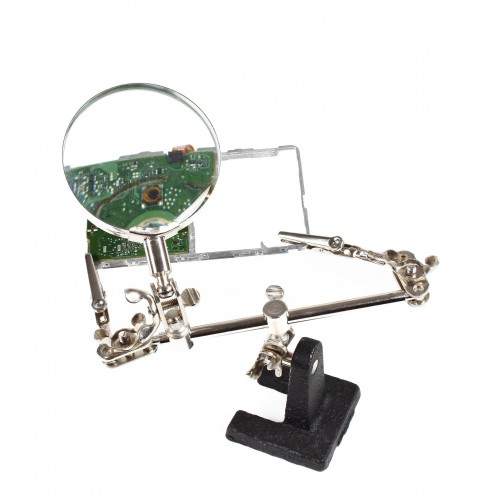 Third hand with magnifying glass (BST-168Z // NO.J108)