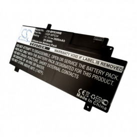 Batterie Sony 3600mAh/39.96Wh 11,1V compatible F15A16, F15A16SC, SVF15A13CW, SVF15A15CW, SVF15A16SC, VAIO Fit 15, VAIO-CA46,