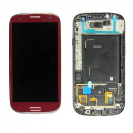 Ecran Rouge (LCD + Tactile) - Samsung Galaxy S3