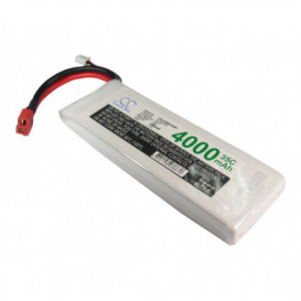 Batterie RC Li-Polymer 4000mAh 7,4V compatible LP4002C35RT