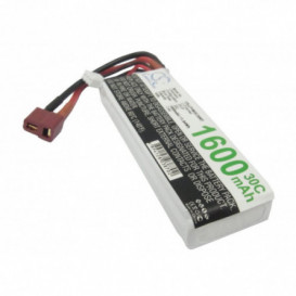 Batterie RC Li-Polymer 1600mAh 7,4V compatible LP1602C30RT