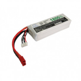 Batterie RC Li-Polymer 1800mAh 14,8V compatible LP1804C30RT