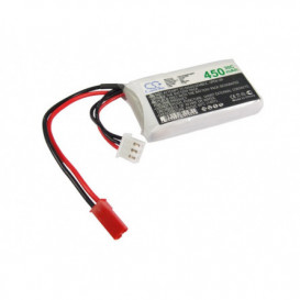 Batterie RC Li-Polymer 450mAh 7,4V compatible LP4502C30RT
