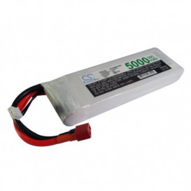 Batterie RC Li-Polymer 5000mAh 7,4V compatible LP5002C35RT