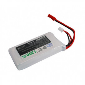 Batterie RC Li-Polymer 1300mAh 7,4V compatible LP1302C30RT