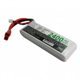 Batterie RC Li-Polymer 2400mAh 7,4V compatible LP2402C30RT