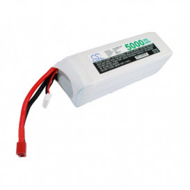 Batterie RC Li-Polymer 5000mAh 18,5V compatible LP5005C35RT