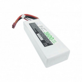Batterie RC Li-Polymer 3600mAh 11,1V compatible LP3603C35RT