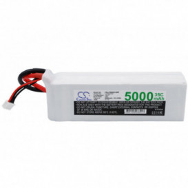 Batterie RC Li-Polymer 5000mAh 11,1V compatible LP5003C35RT