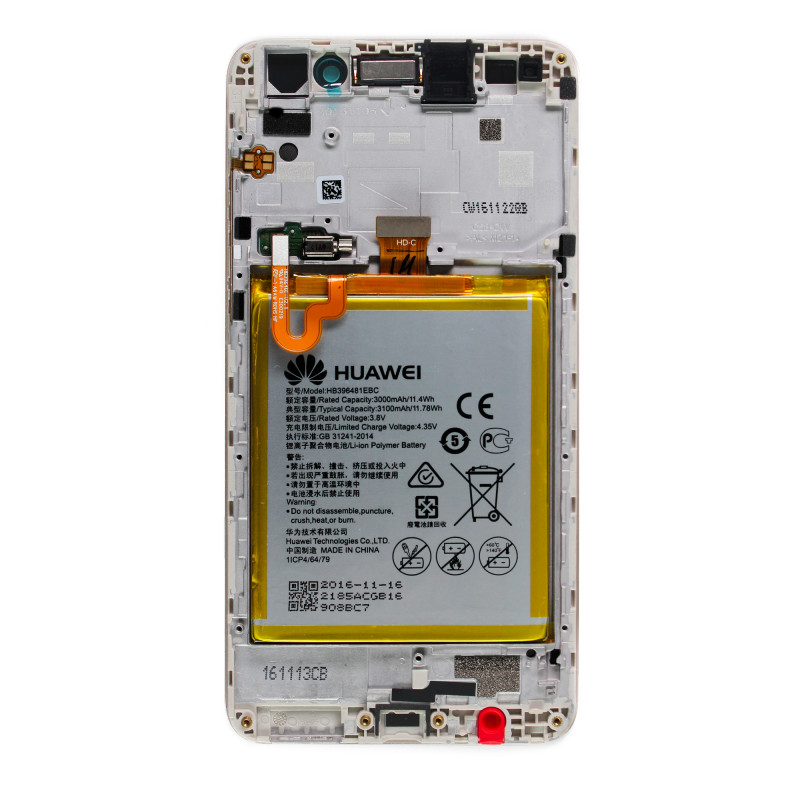 Full screen OR (chassis / battery) (Official) Huawei Y6 II - SOSav