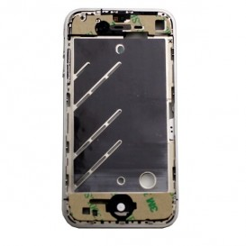 Pre-assembled Chrome Rear Frame - iPhone 4S