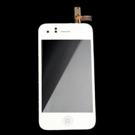 Bloc vitre tactile + LCD - iPhone 3GS BLANC