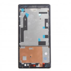 Black Touch Screen Frame - Xperia T2 Ultra