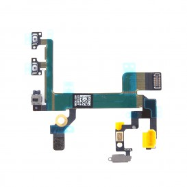 Power, Flash, vibrate switch, Volume, secondary microphone flex cable - iPhone 5S