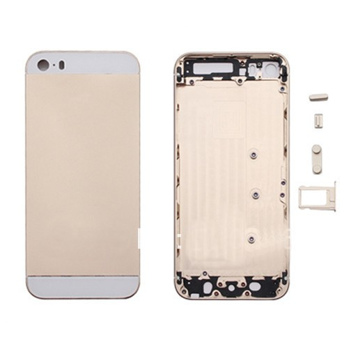 IPhone 5s Gold metal frame and contour - Champagne