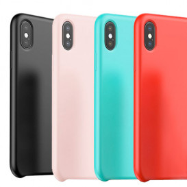 Coque en silicone Touch serie Baseus iPhone X Xs