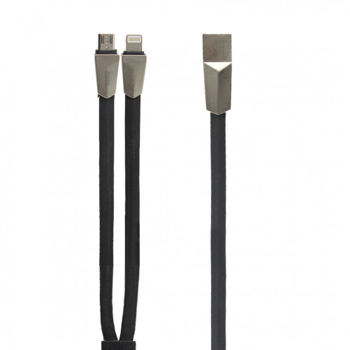 Double chargeur Lightning + micro USB