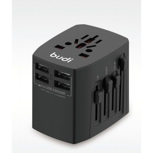 Universal Travel Charger 4 USB