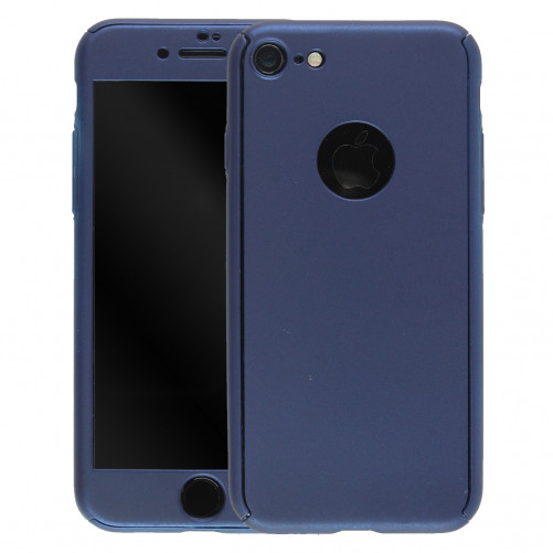 360 ° protection case with tempered glass iPhone 7 / iPhone 8