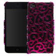 Coque Bling Bling style iPhone 4 4S Rose