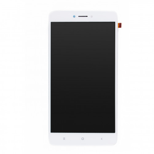 Ecran complet BLANC (LCD + Tactile + Châssis) - Redmi Note 4X