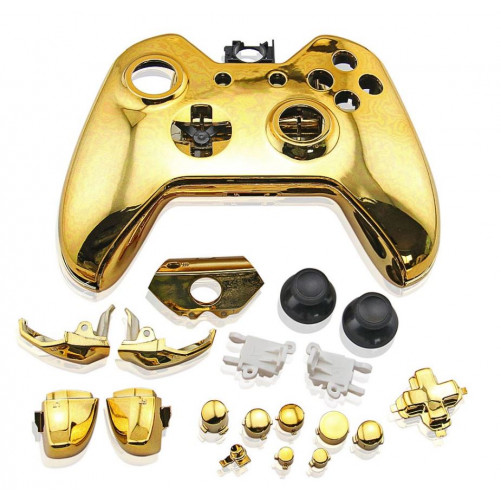 Coque manette Xbox One Chrome + boutons