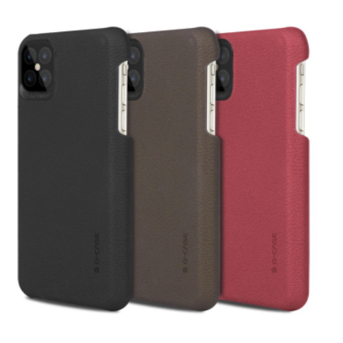 Coque silicone effet cuir - iPhone 12 Pro Max