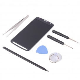 DIY GREY Screen Repair Kit (LCD + Touch screen) - Galaxy S4 Active