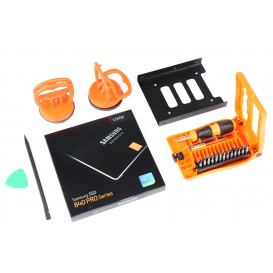 Kit SSD (SSD 128 Go Samsung + adaptateur + ventouses/outils) - iMac