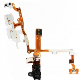 Power, volume buttons + vibrate ring switch + Jack plug flex cable - iPhone 3G/3GS