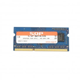 Kit 2 x 4 Go RAM SQP SoDimm DDR3 1600 MHz - PC3-12800