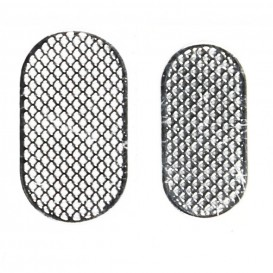 Microphone + Speaker Grill Plates (2pcs) - iPhone 3G/3GS