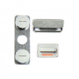 Set of 3 buttons (Power, Vibrate ring switch, Volume)- iPhone 4