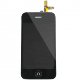Black Touch Screen Digitizer Block + LCD - iPhone 3G Screen