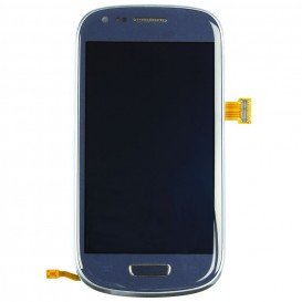Complete Screen Assembly BLUE - Galaxy S3 Mini