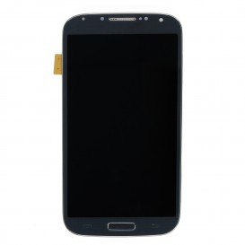 Complete Screen Assembly BLACK (LCD + Touchscreen + Frame) - Galaxy S4 Advance