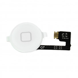 Bouton home blanc + nappe - iPhone 4