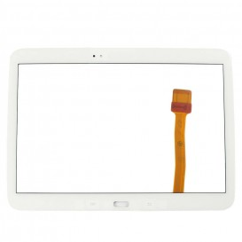 Front glass (white) + stickers - Tab 3 10.1""""