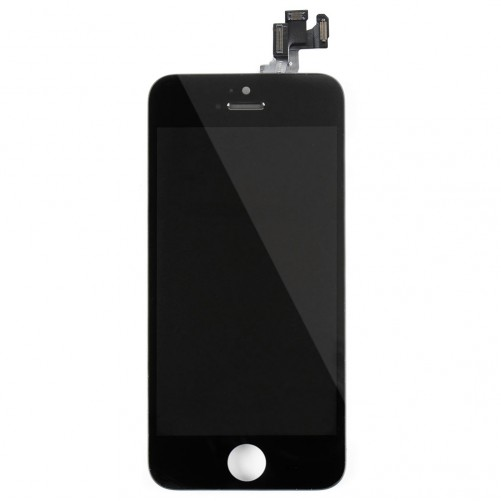 Complete assembled screen Black - iPhone 5S