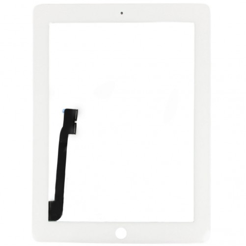White touch screen - new iPad