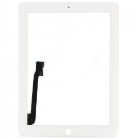 Vitre tactile Blanche - iPad 4