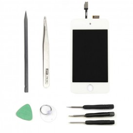 Screen (LCD + touch screen) DIY Repair Kit - iPod touch 4G White
