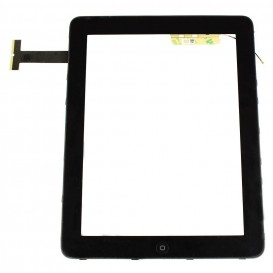 Touch screen + Frame (black) - iPad 3G