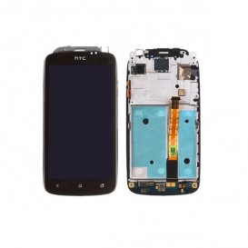 Screen Assembly (LCD + Touch Screen + Frame) - HTC One S
