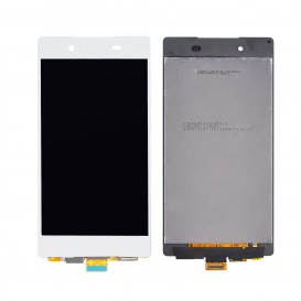 Complete Screen Assembly WHITE - Sony Xperia Z3 Plus