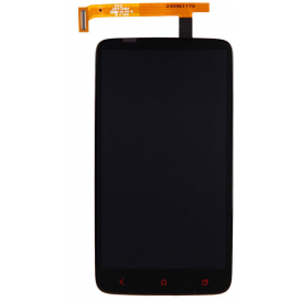 Complete Screen Assembly BLACK (LCD + Touchscreen + Frame) - HTC One X+